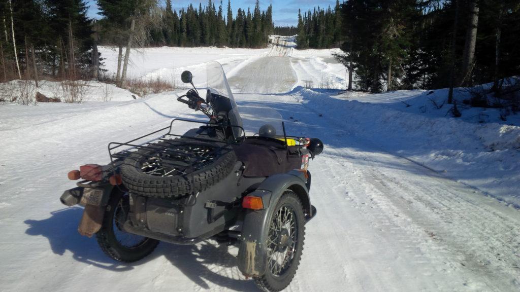 En route vers Moose Factory. Photo : Mario Villeneuve